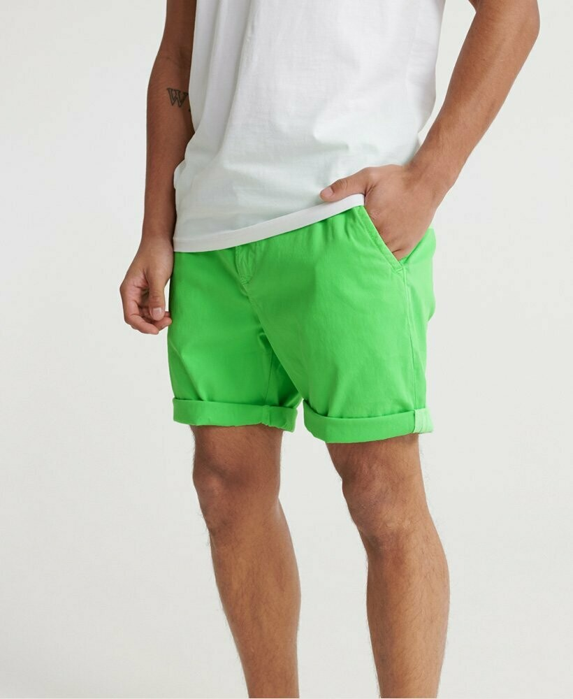 Sunscorched Chino Short Verde Fluro
