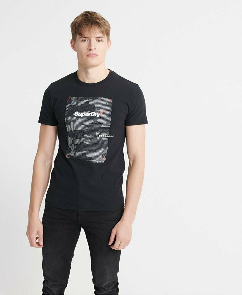 Camiseta Cromatic Negra