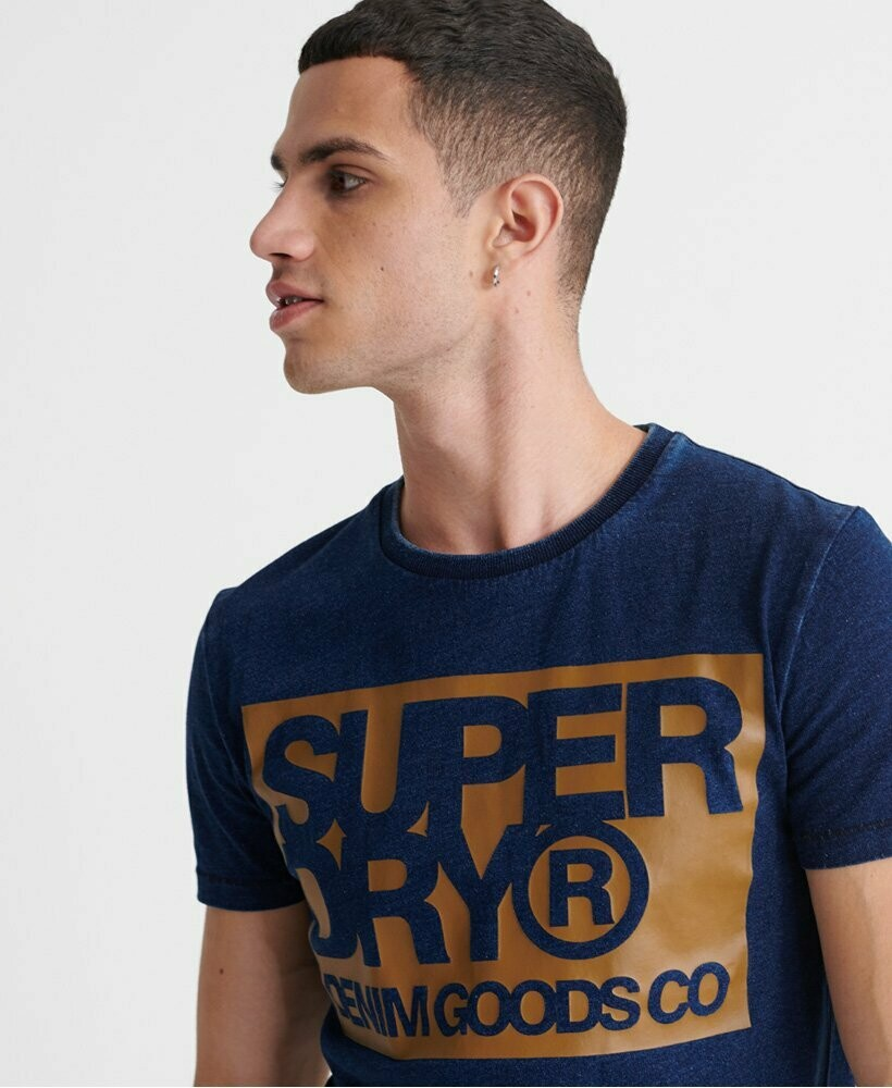Camiseta Denim Goods azul oscuro