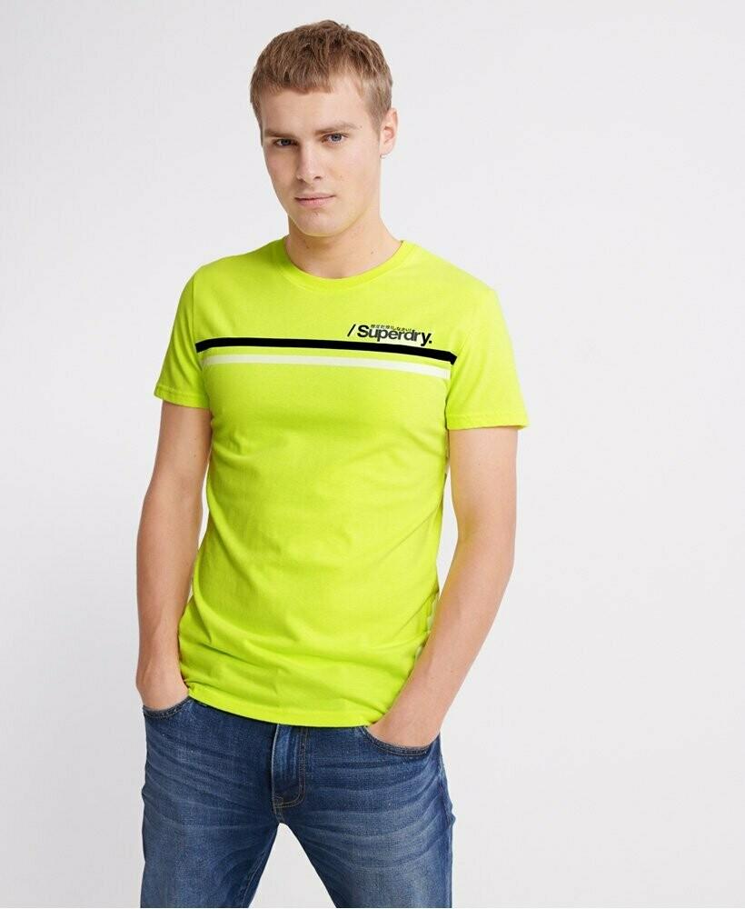 Camiseta Fluor Superdry Deportiva