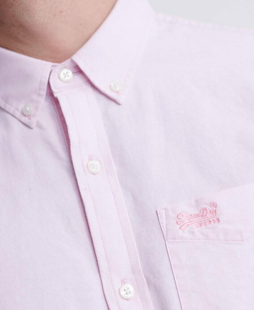 Camisa Classic University Oxford rosa