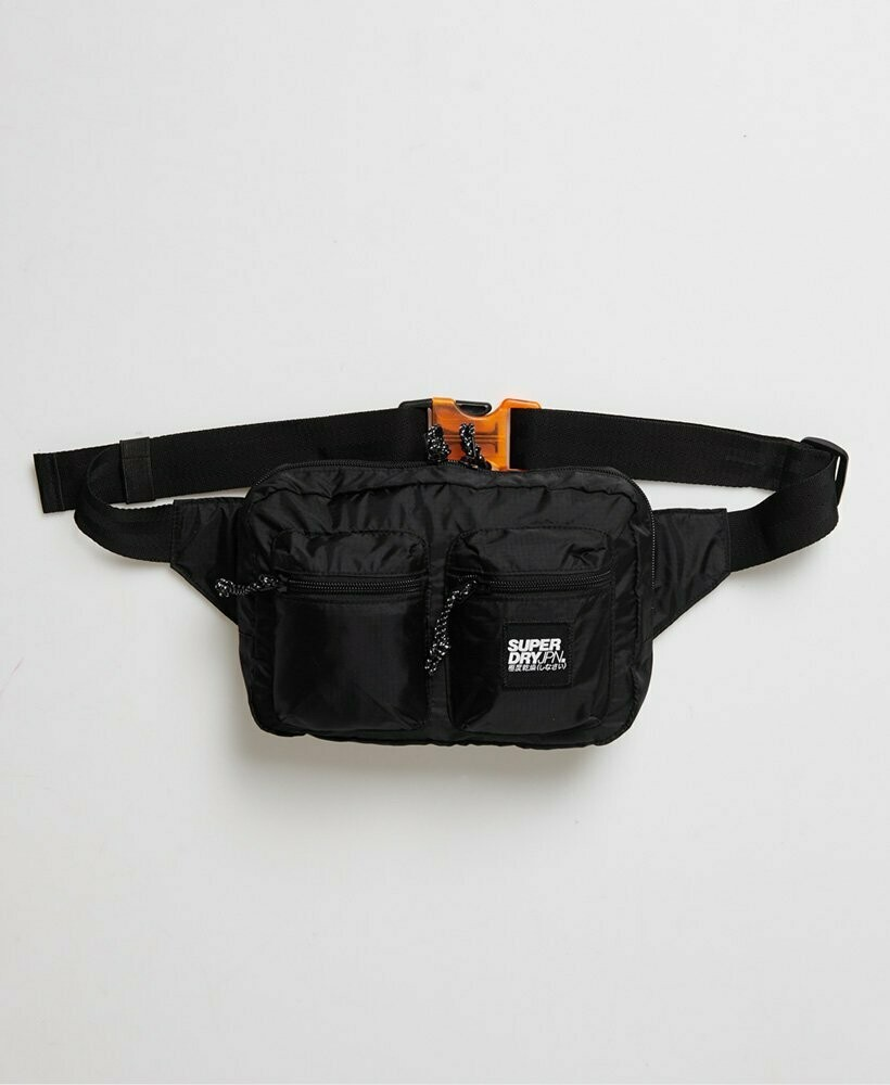 bandolera  utility pack negra