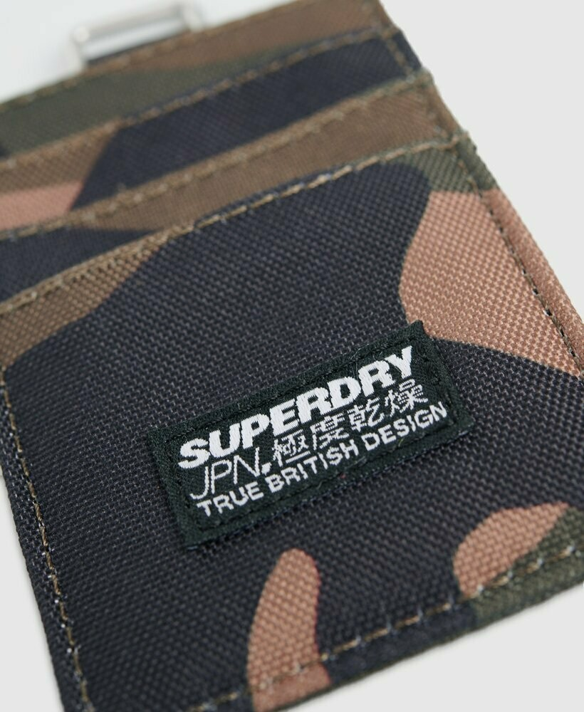 Fabric Card Wallet Tarjetero Camuflaje