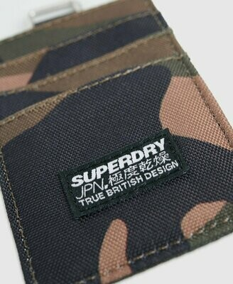 Fabric Card Wallet Tarjetero Camuflaje