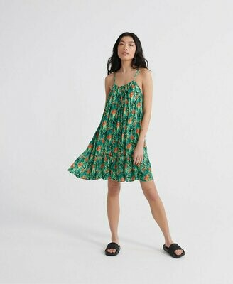 Vestido daisy beach verde