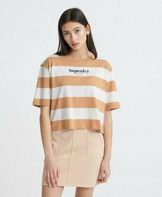 Camiseta Top Rayas Harper Color Galleta