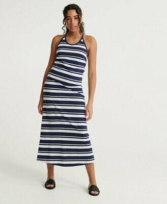 Vestido Largo De Rayas Summer