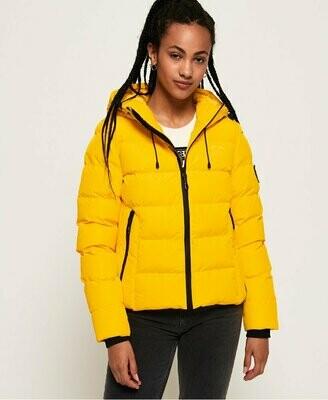 Spirit Puffer Jacket Amarilla