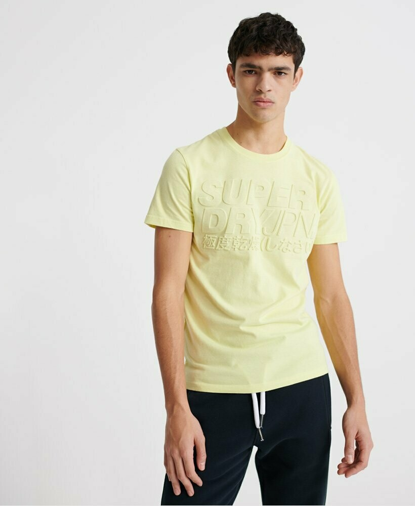 Camiseta Emboss Pastel Line Charlcok
