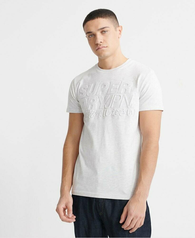 Camiseta Emboss Pastel Line Tee