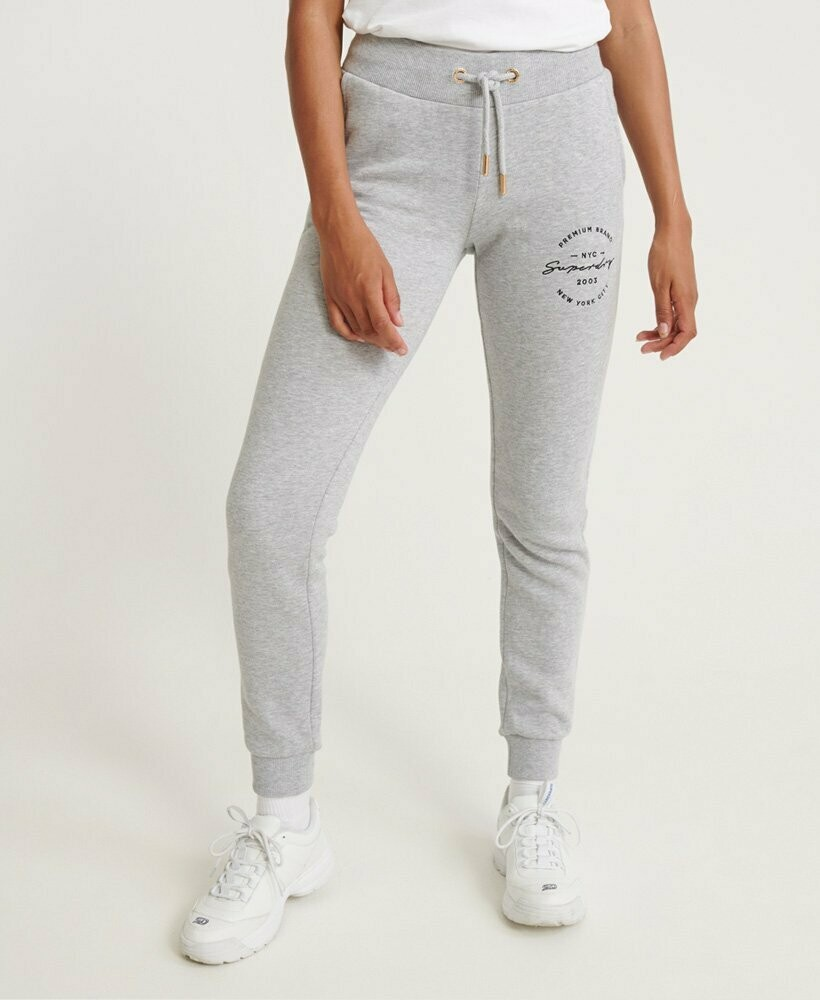 Joggers con applique