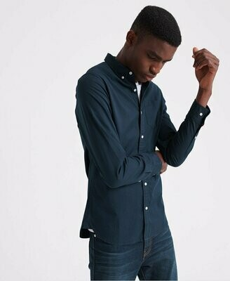 Camisa Classic Twill nordic navy
