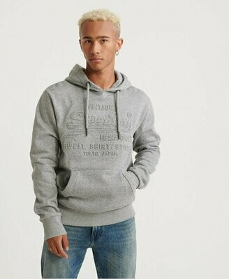 Sudadera Shop Embossed  Jasper Grey
