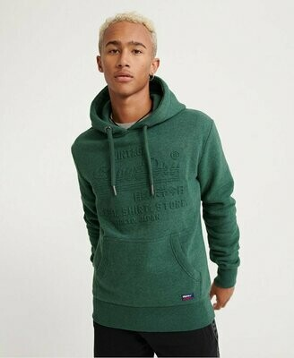 SUDADERA Shop Embossed green