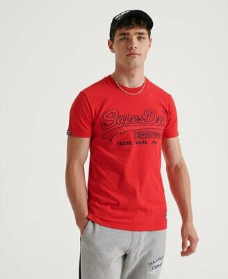 Camiseta downhill race aplique roja