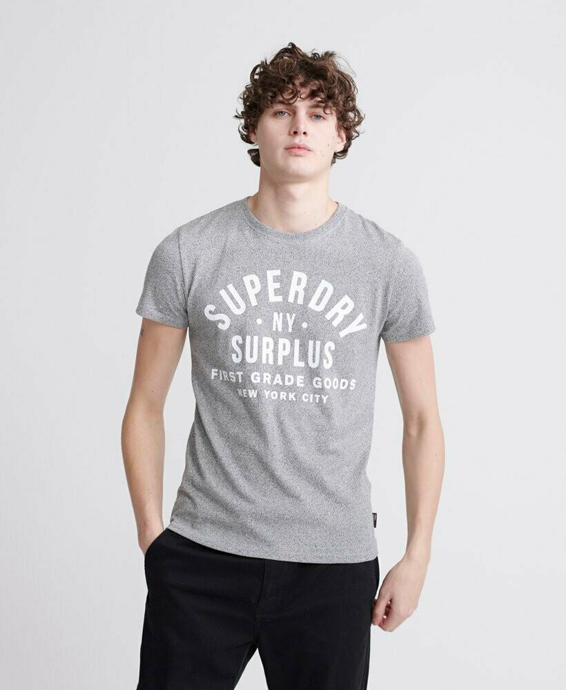 Camiseta Gráfica Surplus Goods Classic gris