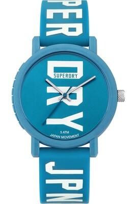reloj de chica azul