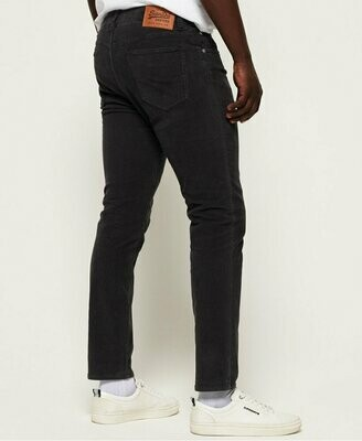 Pantalones Slim Tyler Cord Five Pocket Trousers washed black