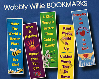 Wobbly Willie Bookmarks & Bracelets