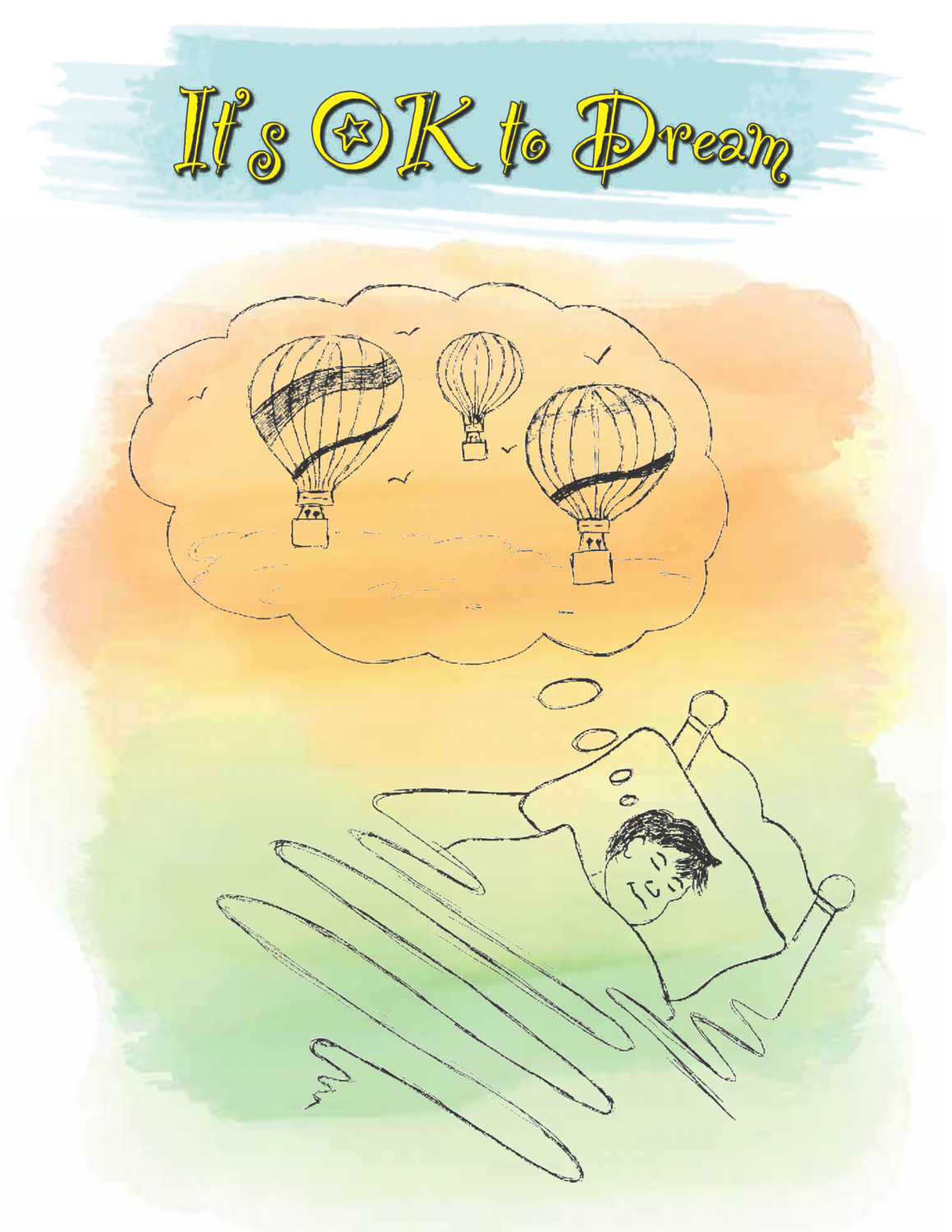 It's Okay To Dream Poetry Book