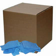 10 Lb. Box of Reclaimed Blue Huck Surgical Towels