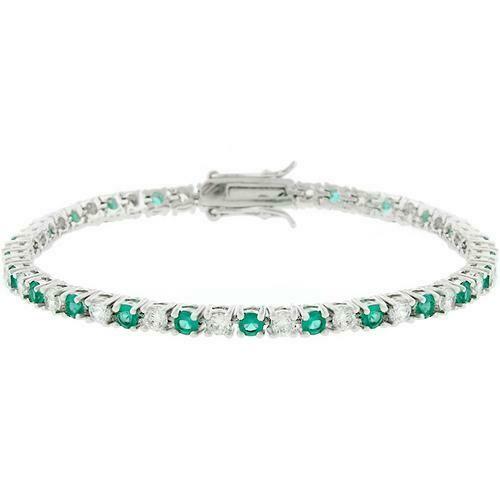 Evergreen Tennis Bracelet