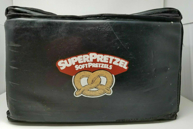 SuperPretzel Stadium Pretzel Delivery Insulated Bag Cooler Food Vendor