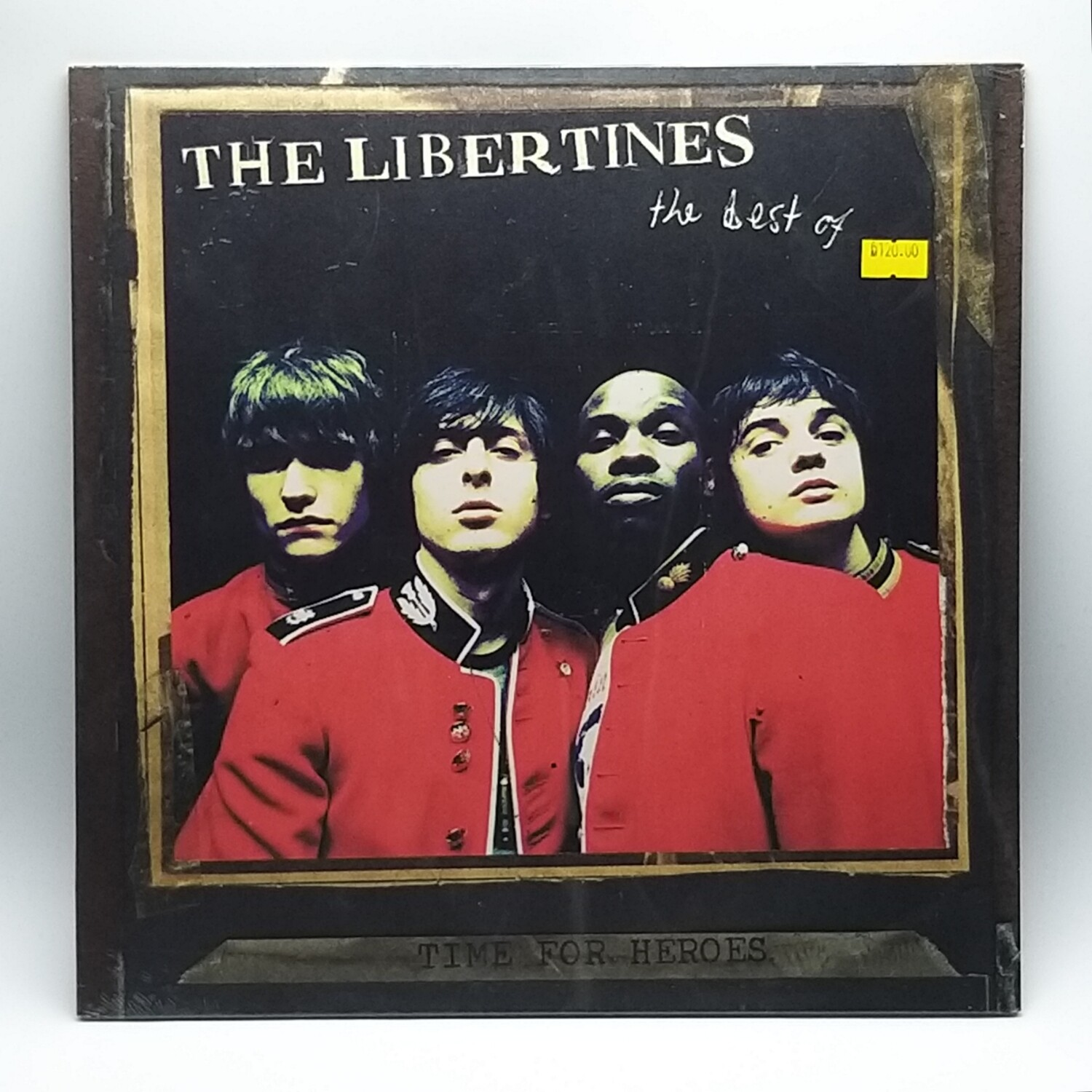 THE LIBERTINES -TIME FOR HEROES: THE BEST OF...- LP