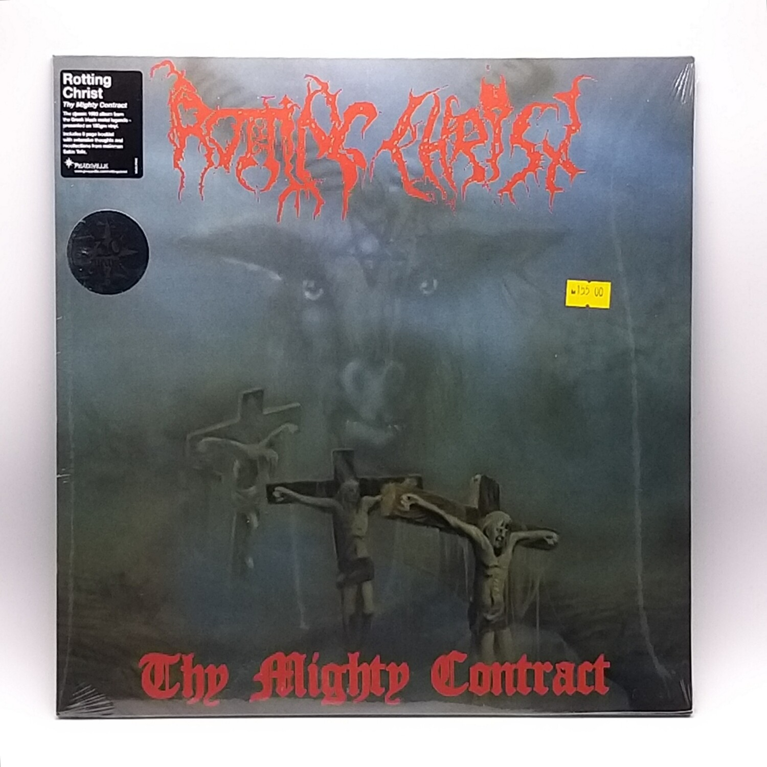 ROTTING CHRIST -THY MIGHTY CONTRACT- LP (180 GRAM VINYL)