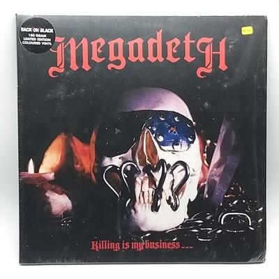MEGADETH -KILLING IS MY BUSINESS- LP (180 GRAM COLOR VINYL)