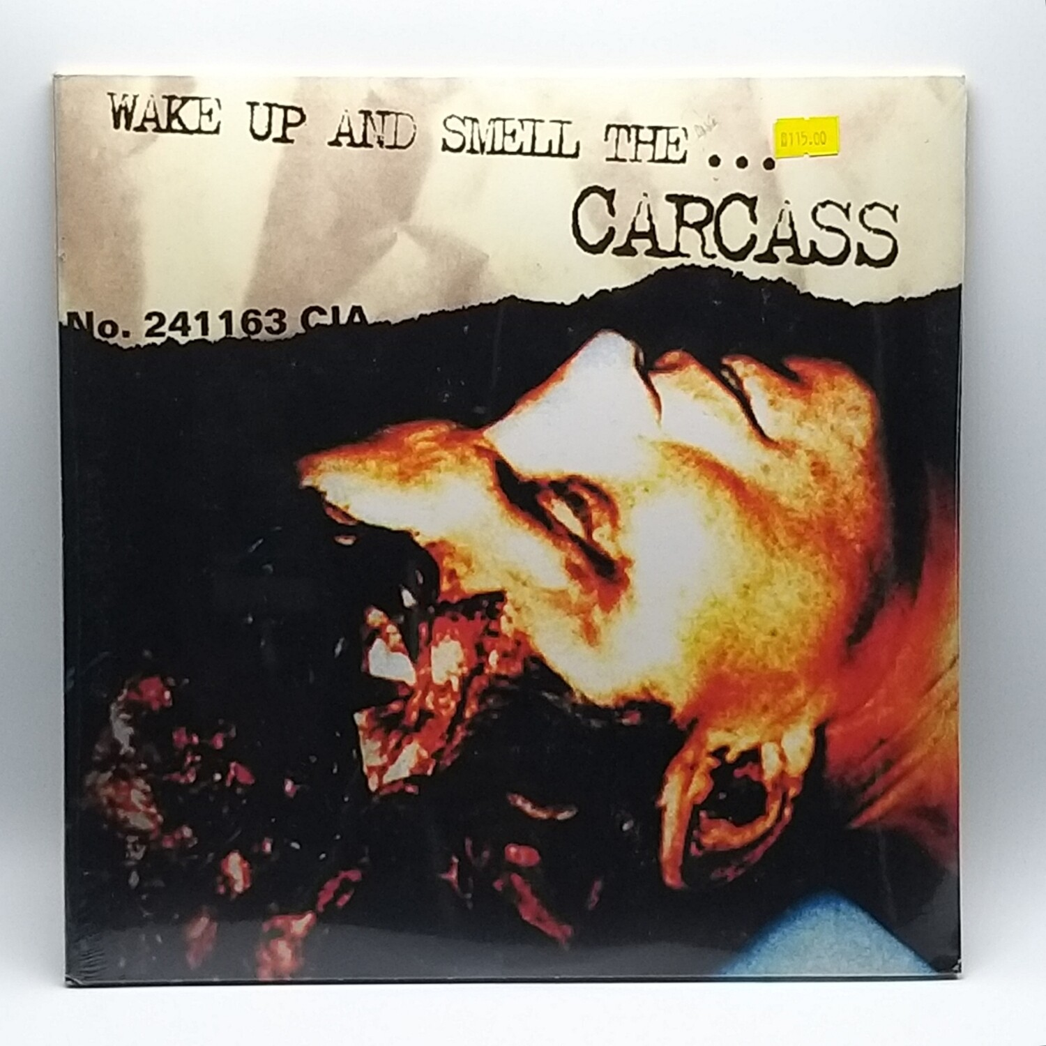 CARCASS -WAKE UP AND SMELL...- 2XLP