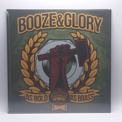 BOOZE & GLORY -AS BOLD AS BRASS- LP (YELLOW VINYL)