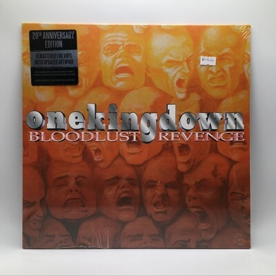 ONE KING DOWN -BLOODLUST REVENGE- 12 INCH EP (COLOR VINYL)
