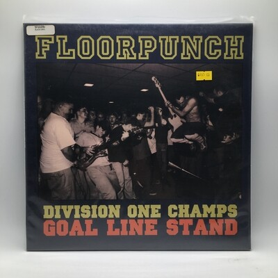 FLOORPUNCH -DIVISION ONE CHAMPS...GOAL LINE STAND- LP