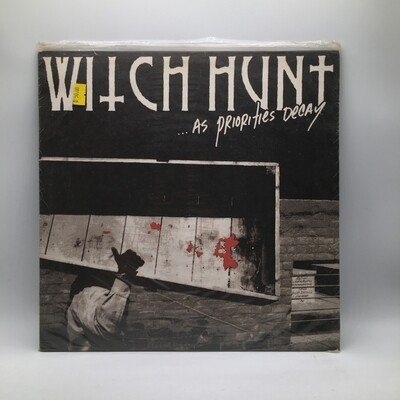 WITCH HUNT -...AS PRIORITY DECAY- LP