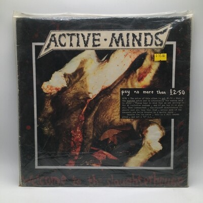 ACTIVE MIND - WELCOME TO THE SLAUGHTER HOUSE- LP