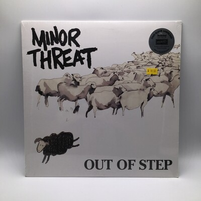 MINOR THREAT -OUT OF STEP- LP