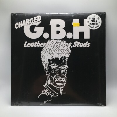 CHARGED GBH -LEATHER, BRISTLES, STUD AND ACNE- LP (COLOR VINYL)