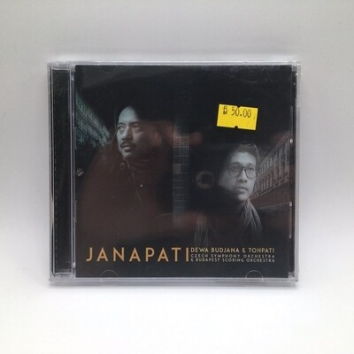 JANAPATI -DEWA BUDJANA & TOHPATI: CZECH SYMPHONY ORCHESTRA & BUDAPEST SCORING ORCHESTRA- CD