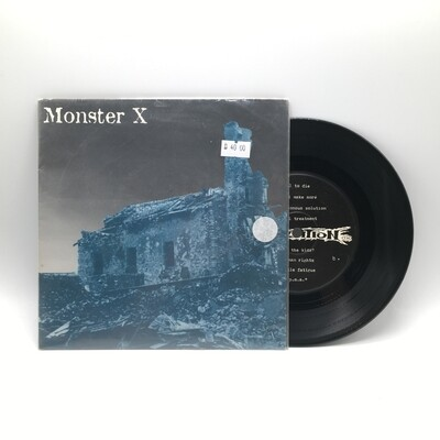 MONSTER X -ATTRITION- 7INCH