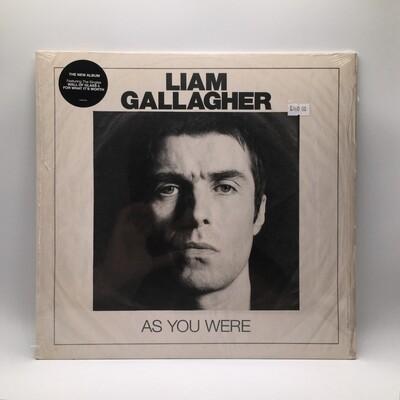 LIAM GALLAGHER -AS YOU WERE- LP (180 GRAM VINYL)