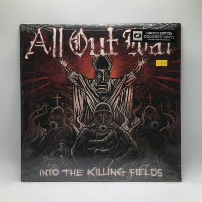 ALL OUT WAR -INTO THE KILLING FIELD- LP (COLOR VINYL)