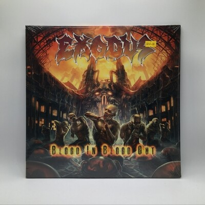 EXODUS -BLOOD IN BLOOD OUT- 2XLP