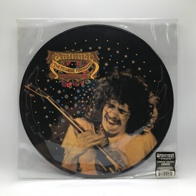 SANTANA -THE FILLMORE PERFORMANCE SAN FRANCISCO 1968- LP (PIC DISC)