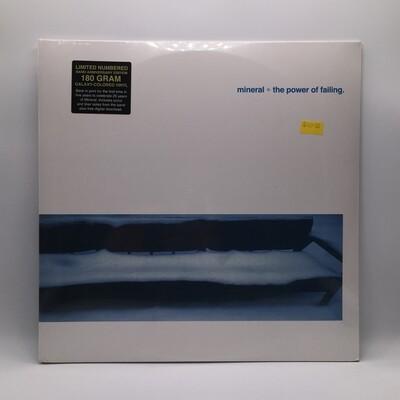 MINERAL -THE POWER OF FAILING- LP (180 GRAM COLOR VINYL)