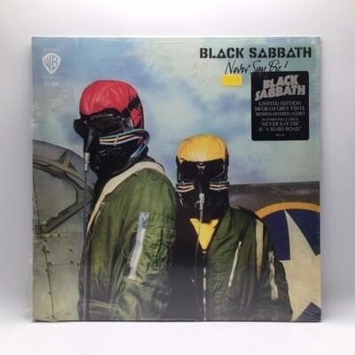 BLACK SABBATH -NEVER SAY DIE!- LP (180 GRAM GREY VINYL)
