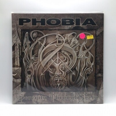 PHOBIA -SERENITY TROUGH PAIN- LP