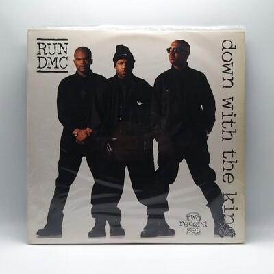 RUN DMC -DOWN WITH THE KING- 2XLP