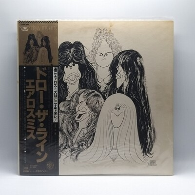 AEROSMITH -DRAW THE LINE- LP