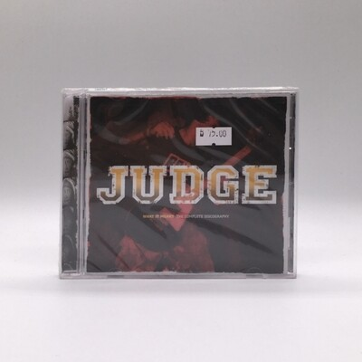 JUDGE -WHAT IT MEANT: COMPLETE DISCOGRAPHY- CD
